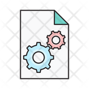 File Project Management Icon