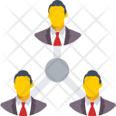 Team Hierarchy Administration Icon