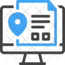 Project Management Computer Document Icon