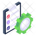 Project Management Project Configuration Project Execution Icon