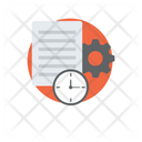 Project Management Project Plan Work Planning Icon