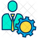Project Management Project Manager Icon