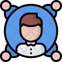 Project Manager Team Icon