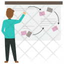 Project Manager Whiteboard Icon