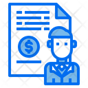 User File Money Icon