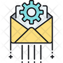 Project Message Email Settings Project Mail Icon