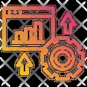 Websit Graph Gear Icon