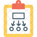 Project Plan Workflow Icon