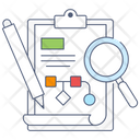 Project Workflow Scheme Project Development Icon