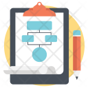 Workflow Sitemap Network Icon