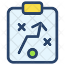 Clipboard Businessman Project Icon