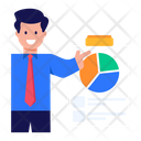 Data Analytics Business Report Project Report Icon