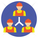 Project Staff Relation Icon