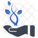 Business Hand Leaf Icon