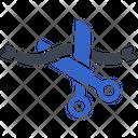 Cut Opening Day Ribbon Cutting Icon