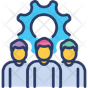 Project Team Management Plan Icon