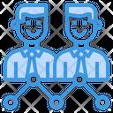 Businessman Analytics Progress Icon