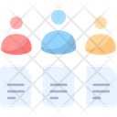 Project Teams Teamwork Team Project Icon