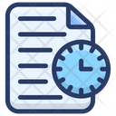 Project Time Project Deadflat Project Timeflat Icon