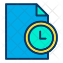 Time Management Project Time Limit Project Time Management Icon