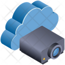 Cloud Computing Projector Icon
