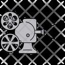 Projector Screen Movie Icon