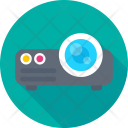 Projector Device Multimedia Icon