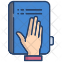 Promise Constitution Book Law Book Icon