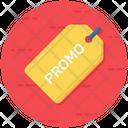 Promo Tag Product Tag Promo Emblem Icon