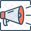 Promote Bullhorn Message Icon