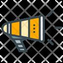 Promotion Bullhorn Branding Icon