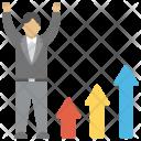 Promotion Progress Career Icon