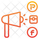 Promote Promotion Meghaphone Icon
