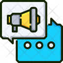 Megaphone Result Declare Declare Icon