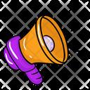 Megaphone Speaking Trumpet Bullhorn Icon