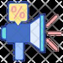 Promotion Marketing Bullhorn Icon
