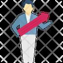 Promotion Achievement Business Icon