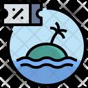 Discount Attraction Sea Icon