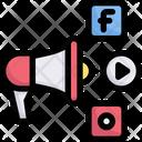 Business Marketing Promotion Icon