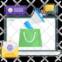 Promotion Shopping Promotion Shopping Email Icon