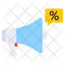 Promotion Announcement Megaphone Icon