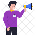 Marketing Promotion Speaker Icon