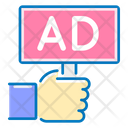 Promotion Advertising Hand Icon