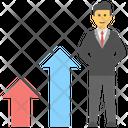 Promotion Progress Job Promotion Icon