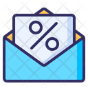 Sale Mail Promotion Icon