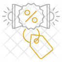 Promotion tag Icon