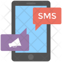Promotional Sms Mobile Icon