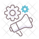 Promotional Technique Setting Gear Icon