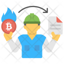 Proof Burn Consensus Icon