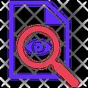 Proofreading Seo Plan Icon